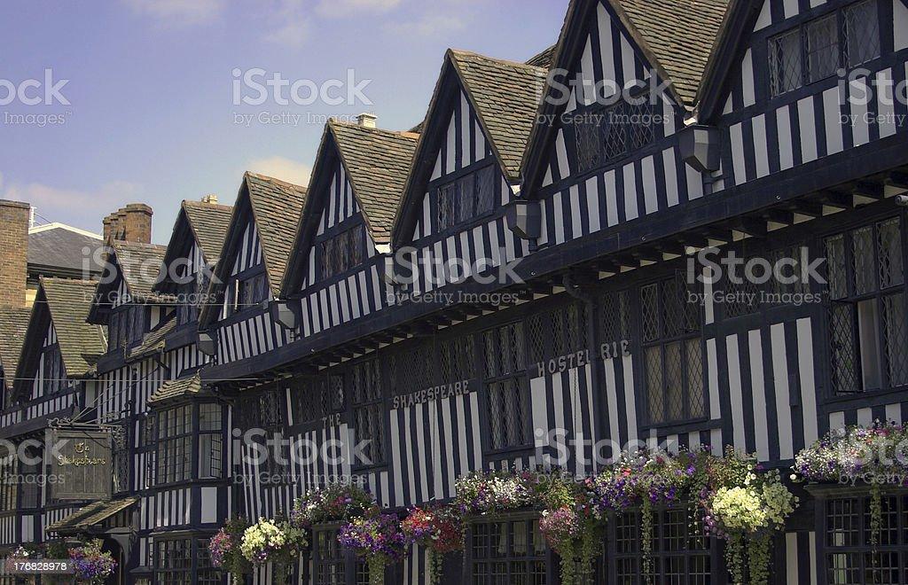 Shakespeare Hostelerie stock photo