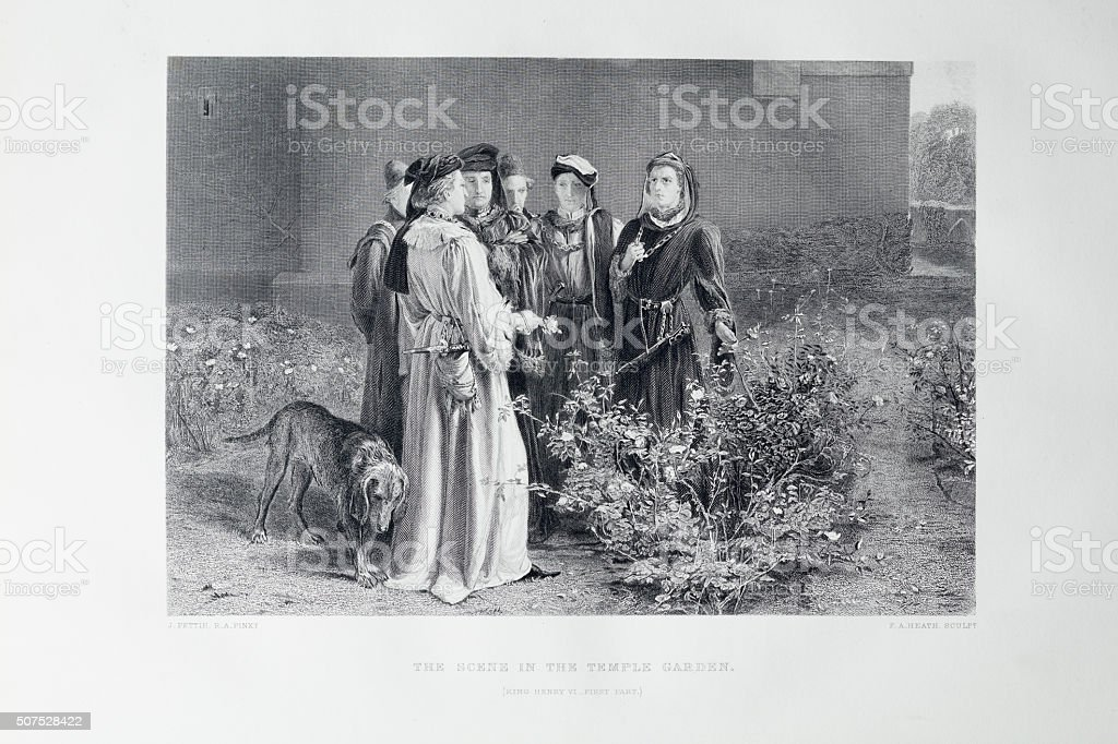 Shakespeare - King Henry VI stock photo