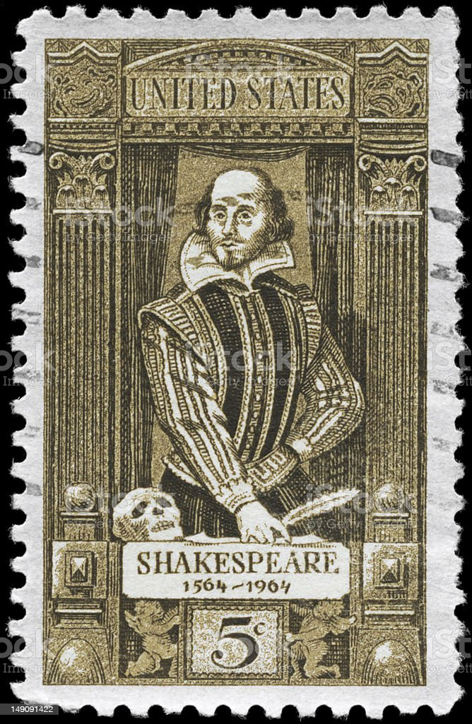 Shakespeare royalty-free stock photo