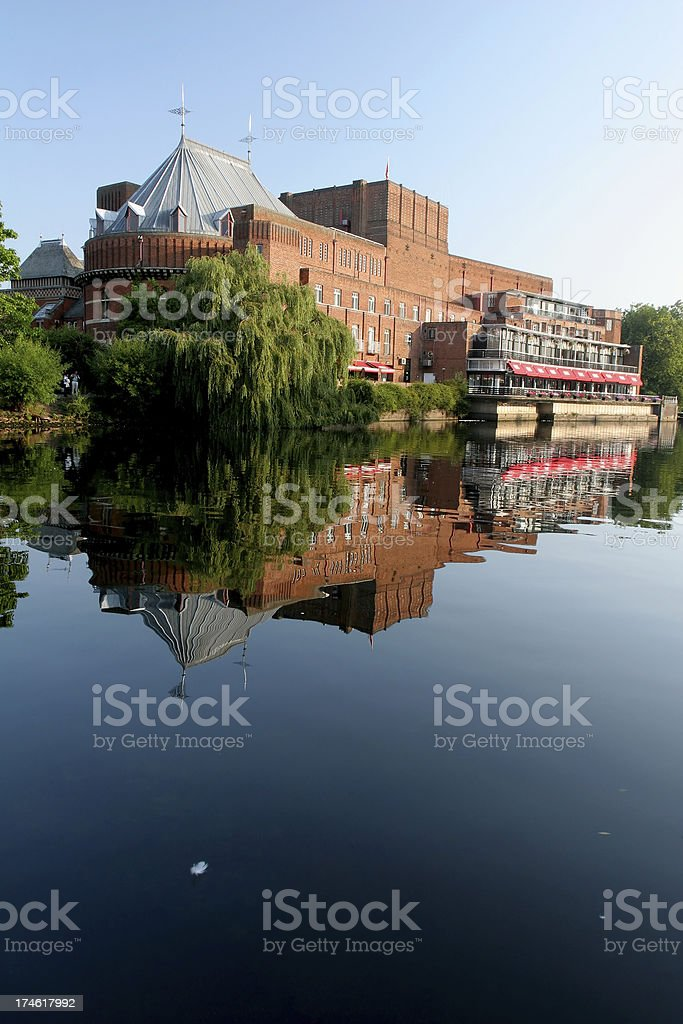 Shakespeare Theater, Stratford Upon Avon royalty-free stock photo