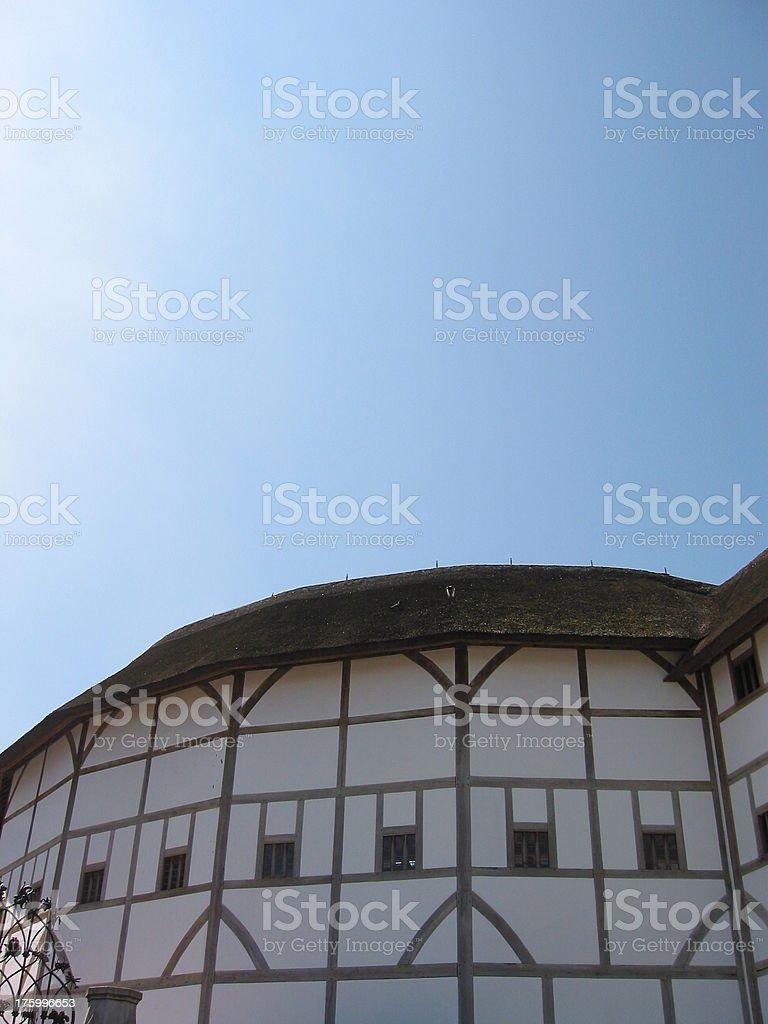 Shakespeares Globe Theater royalty-free stock photo