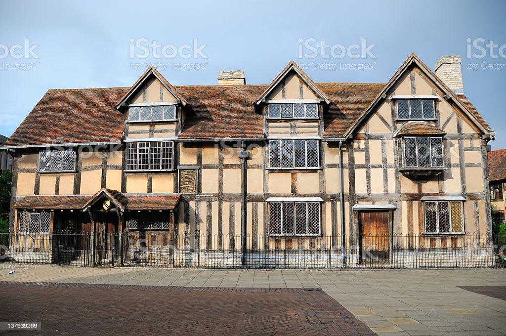 Shakespeare's homeplace stock photo