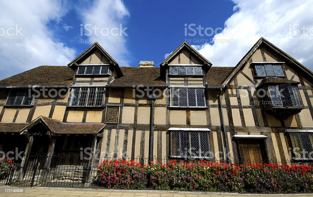 Shakespeare's House royalty-free stock photo