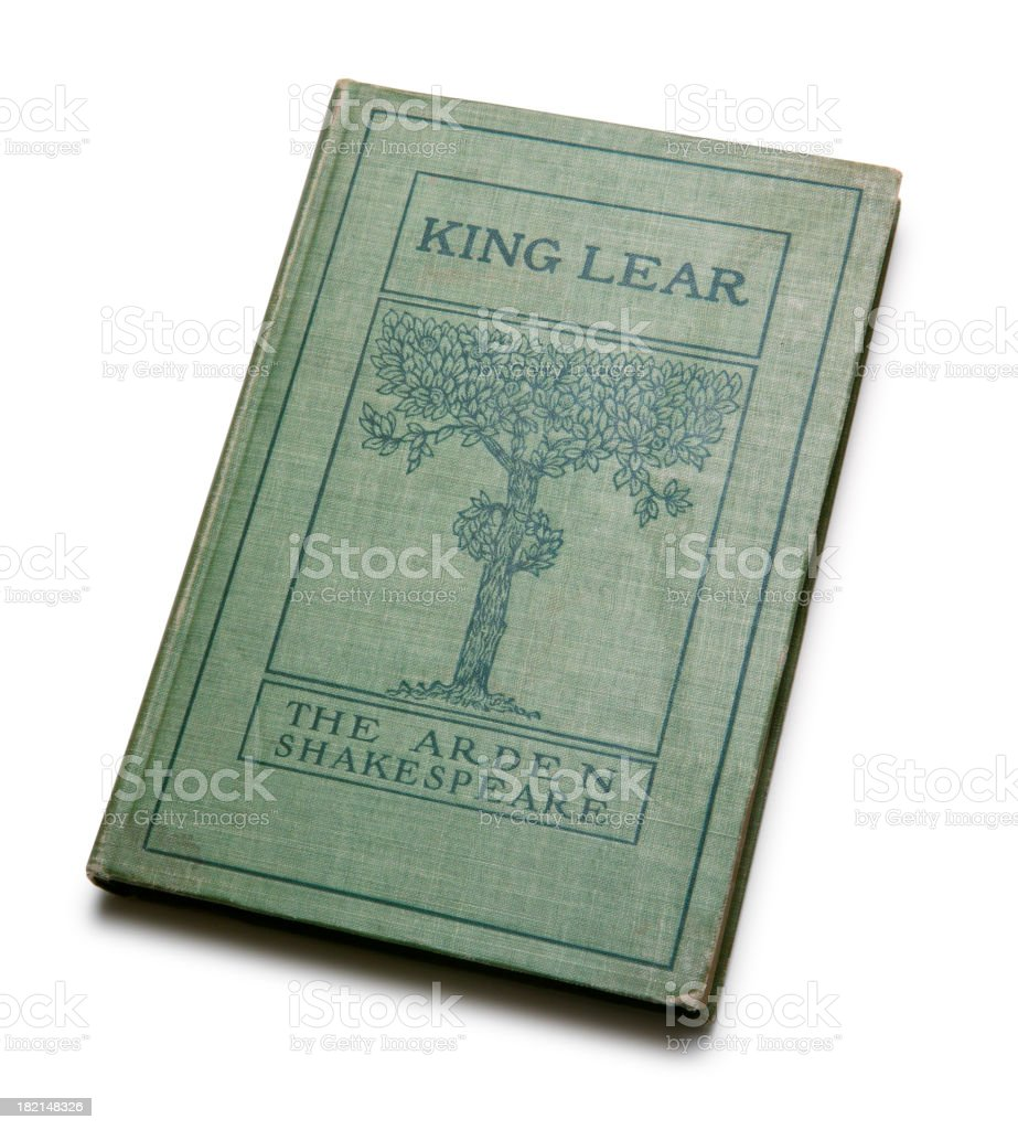 Shakespeare's King Lear royalty-free stock photo