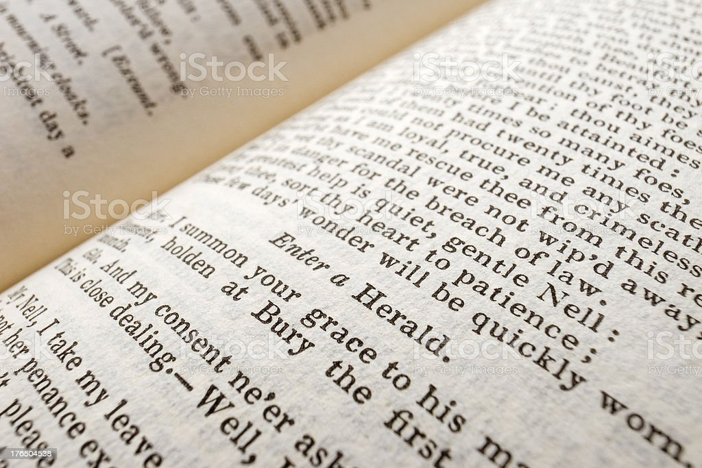 Shakespeare's Plays - King Henry VI, Part 2 royalty-free stock photo