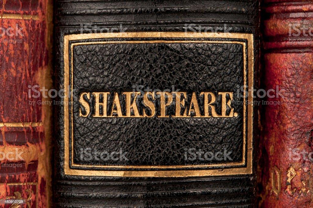 Shakespeare's Works stock photo