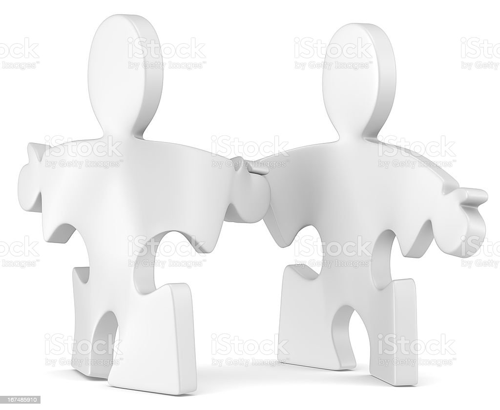 Shaking hands. royalty-free stock photo