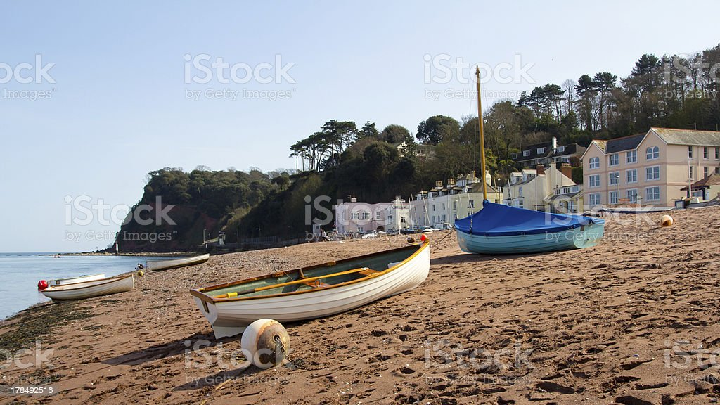 Shaldon Devon en Angleterre photo libre de droits