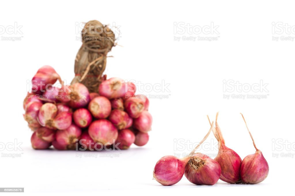 Shallots with ingredients, asian food, Thailand food, stock photo