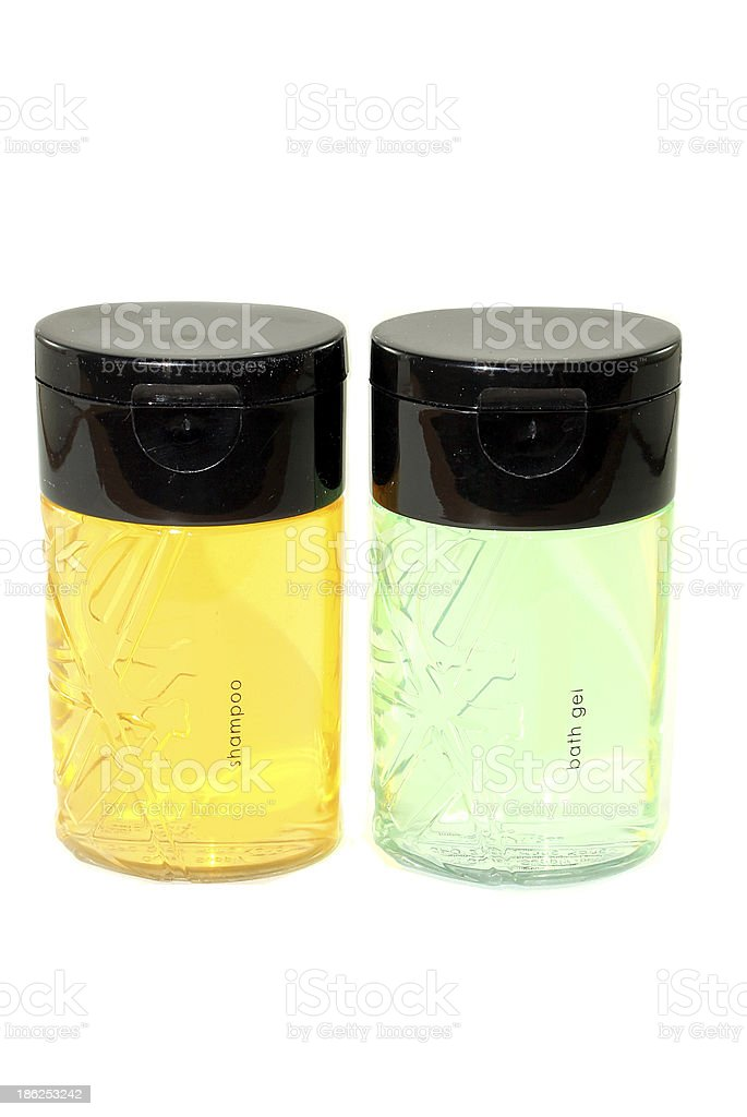 Shampoo and Shower Gel royalty-free stock photo
