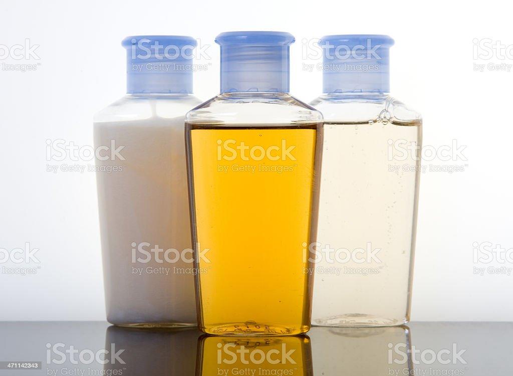 Shampoo Conditoner Shower Gel royalty-free stock photo