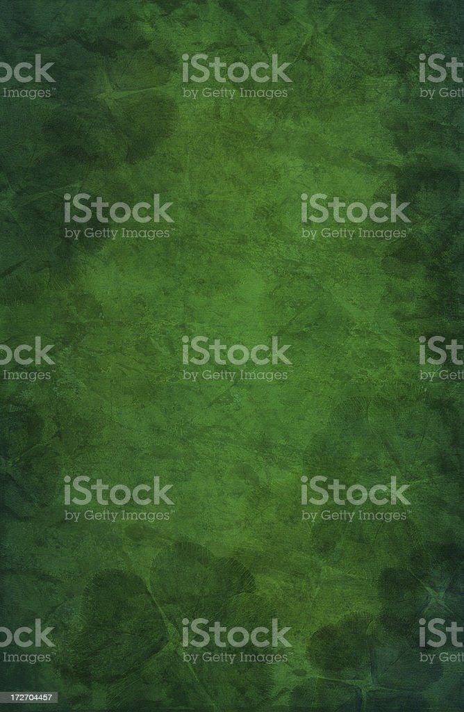 Shamrock background royalty-free stock photo