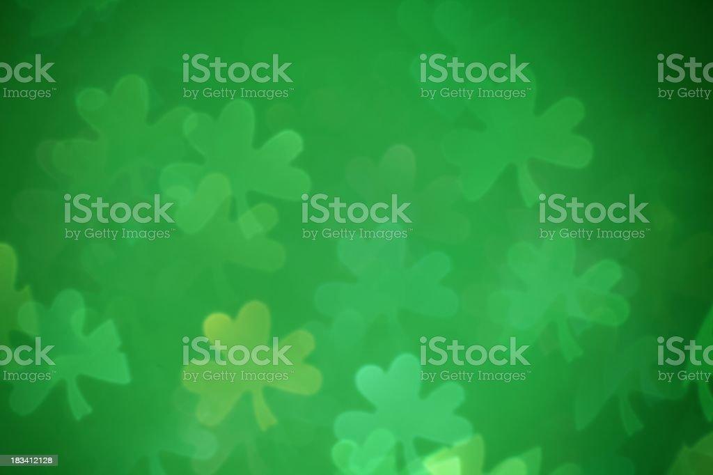 Shamrock Background stock photo