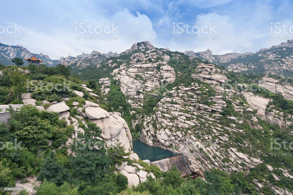 Shandong province,Laoshan Mountain, stock photo