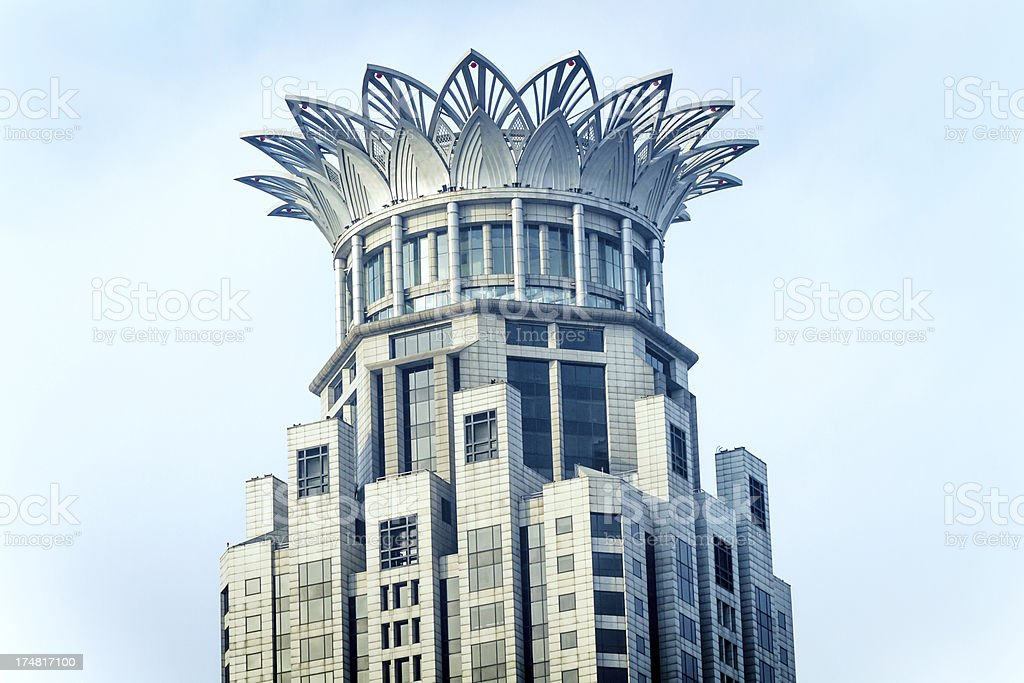 Shanghai Bund city building royalty-free stock photo
