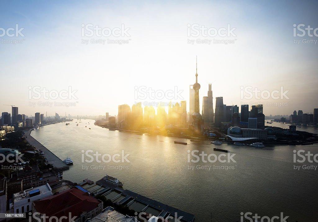 shanghai china royalty-free stock photo