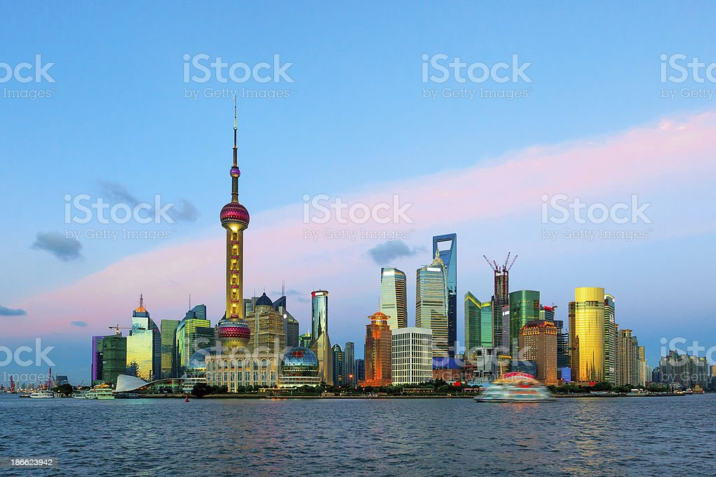 Shanghai, China royalty-free stock photo