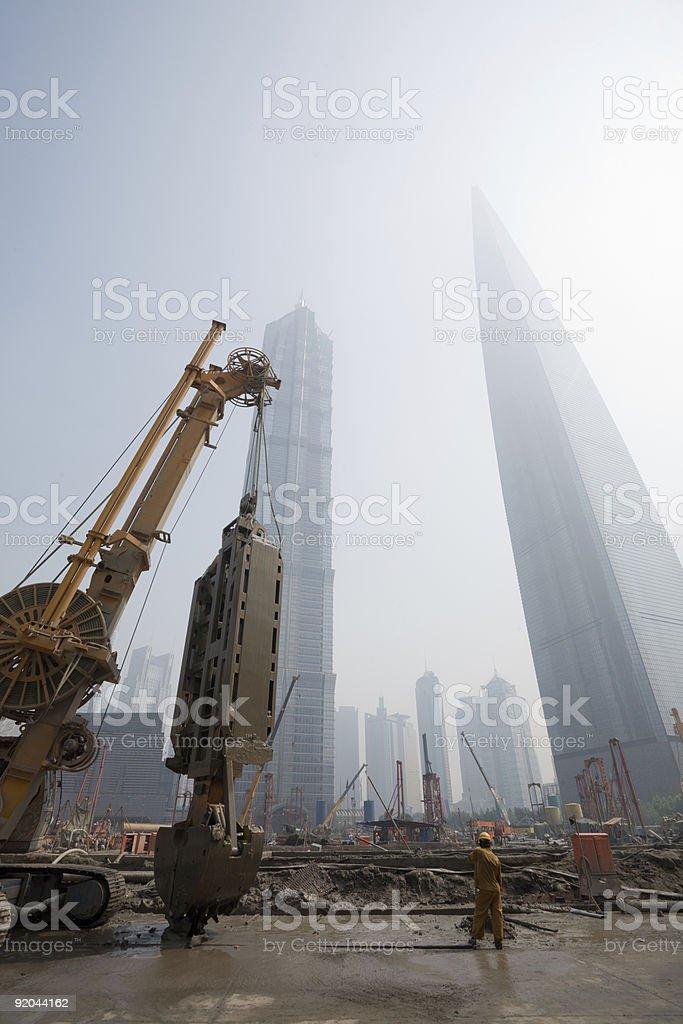 Shanghai city royalty-free stock photo