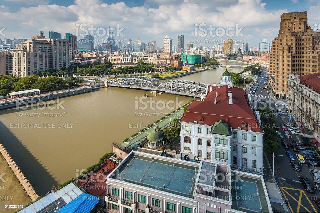 Shanghai Cityscape, China stock photo