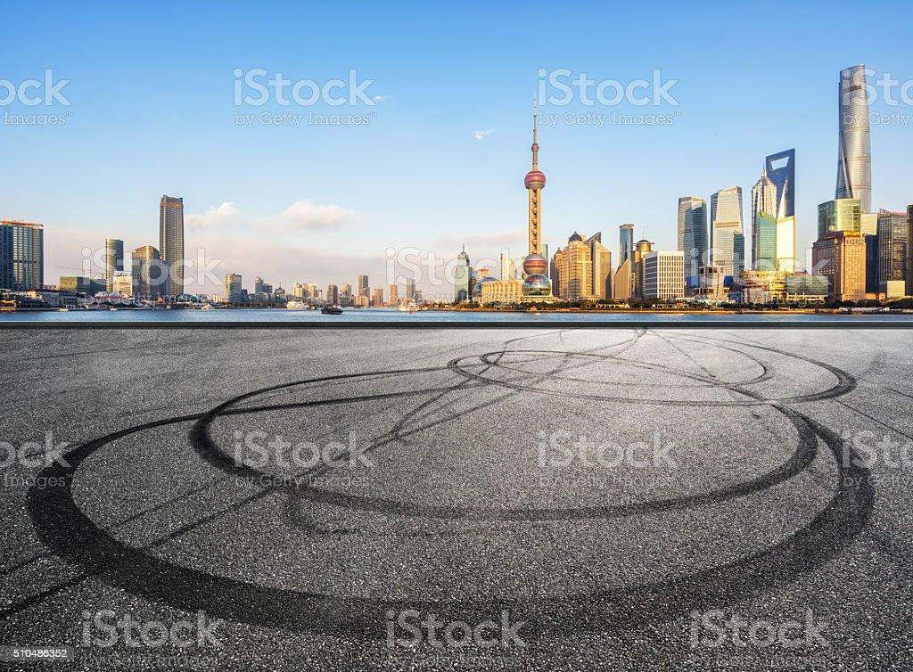 Shanghai daytime stock photo