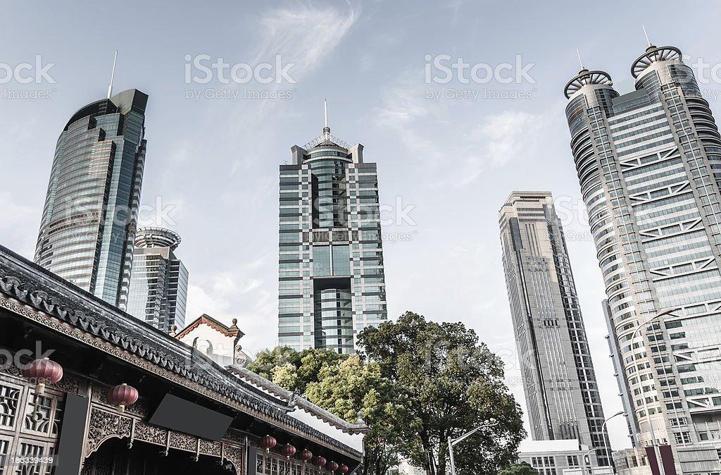 shanghai Lujiazui royalty-free stock photo