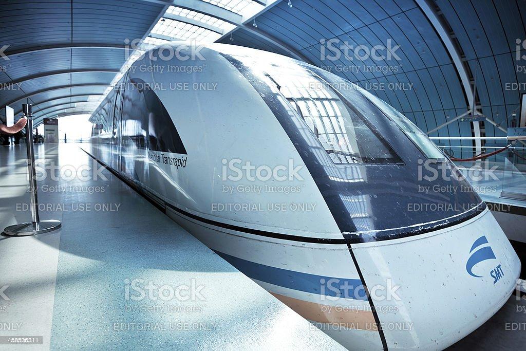 Shanghai Maglev Train royalty-free stock photo