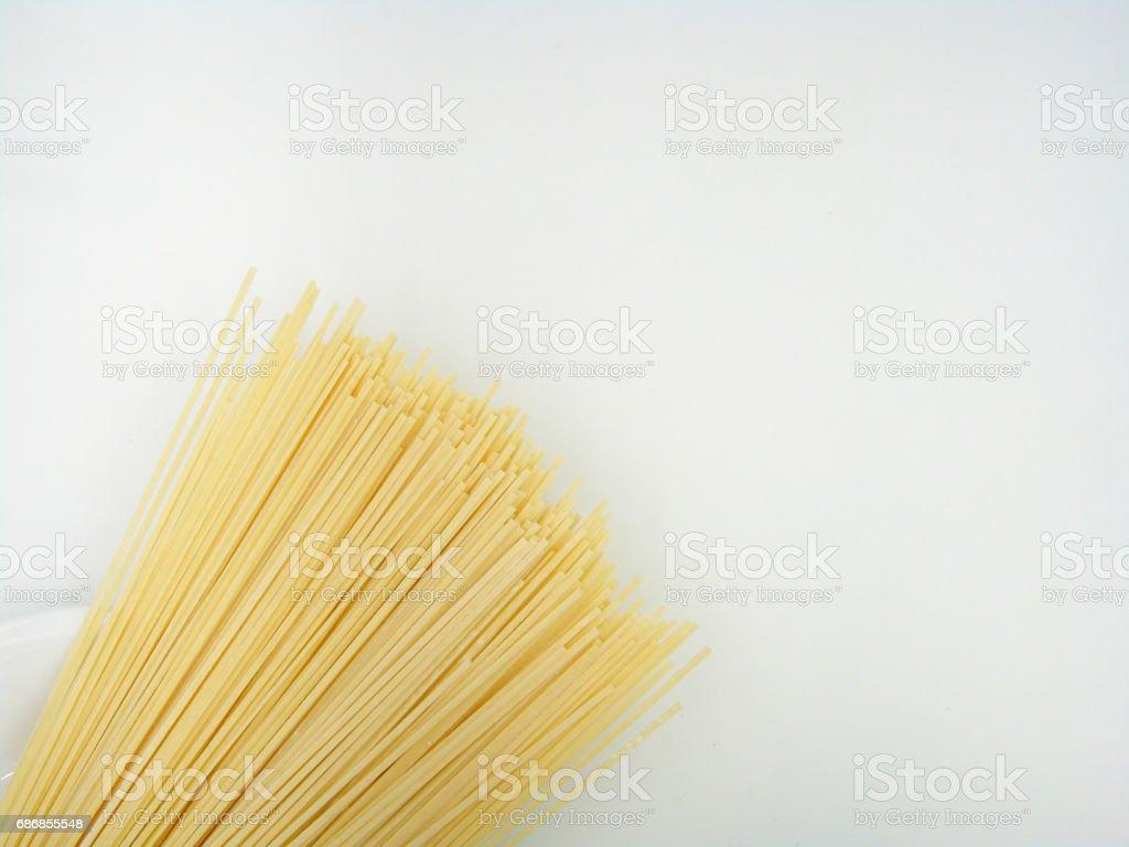 Shanghai noodles stock photo