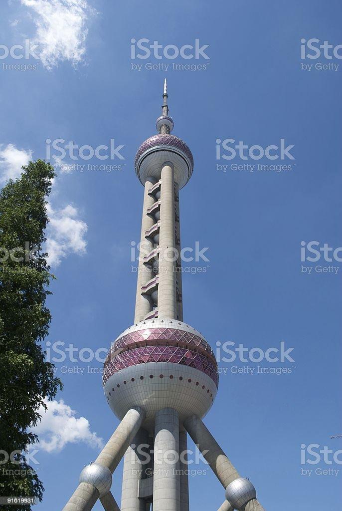 Shanghai Pearl Tower stock photo