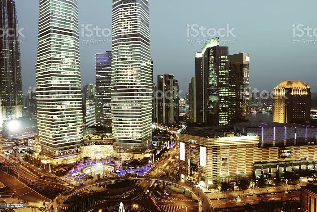 shanghai royalty-free stock photo