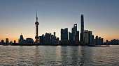 Shanghai Skyline in the early morning