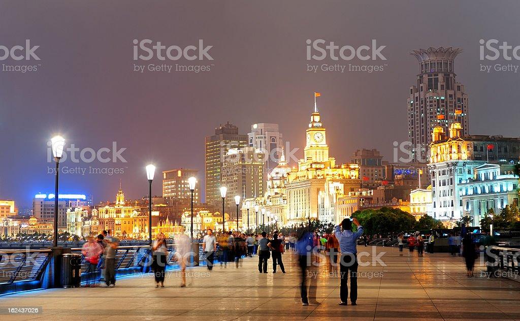 Shanghai skyscrapers royalty-free stock photo