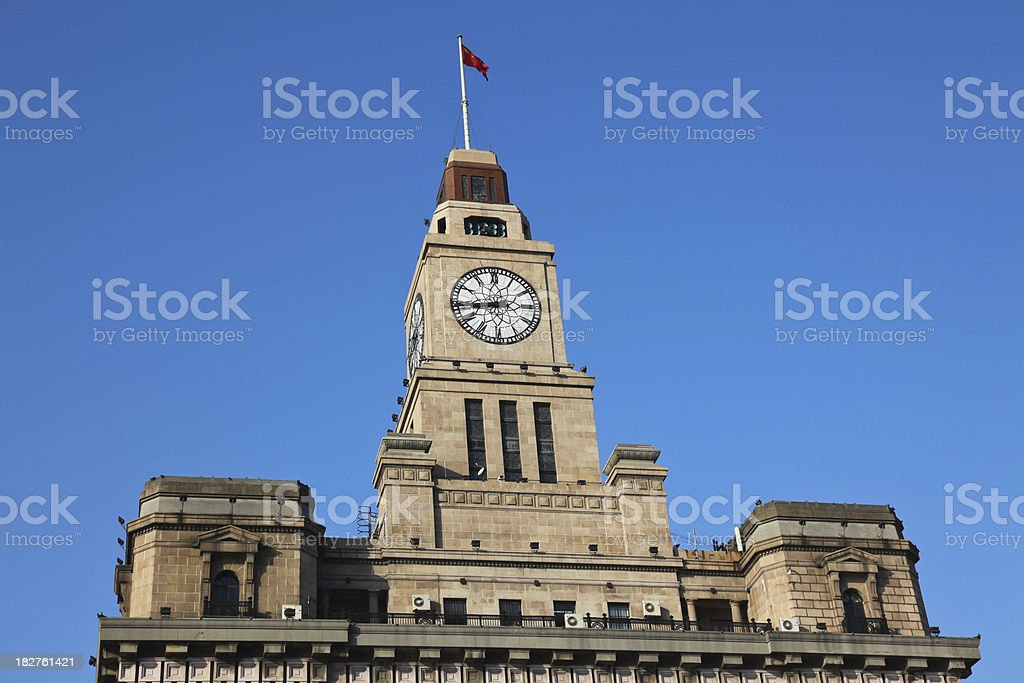 Shanghai: The Bund royalty-free stock photo