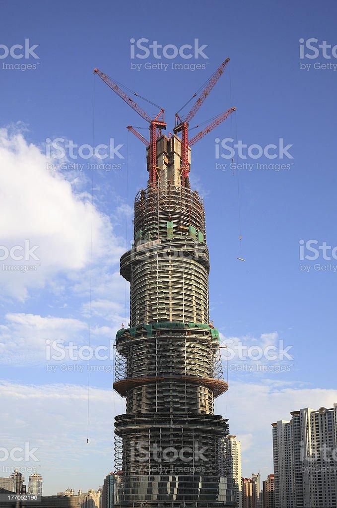 Shanghai Tower royalty-free stock photo