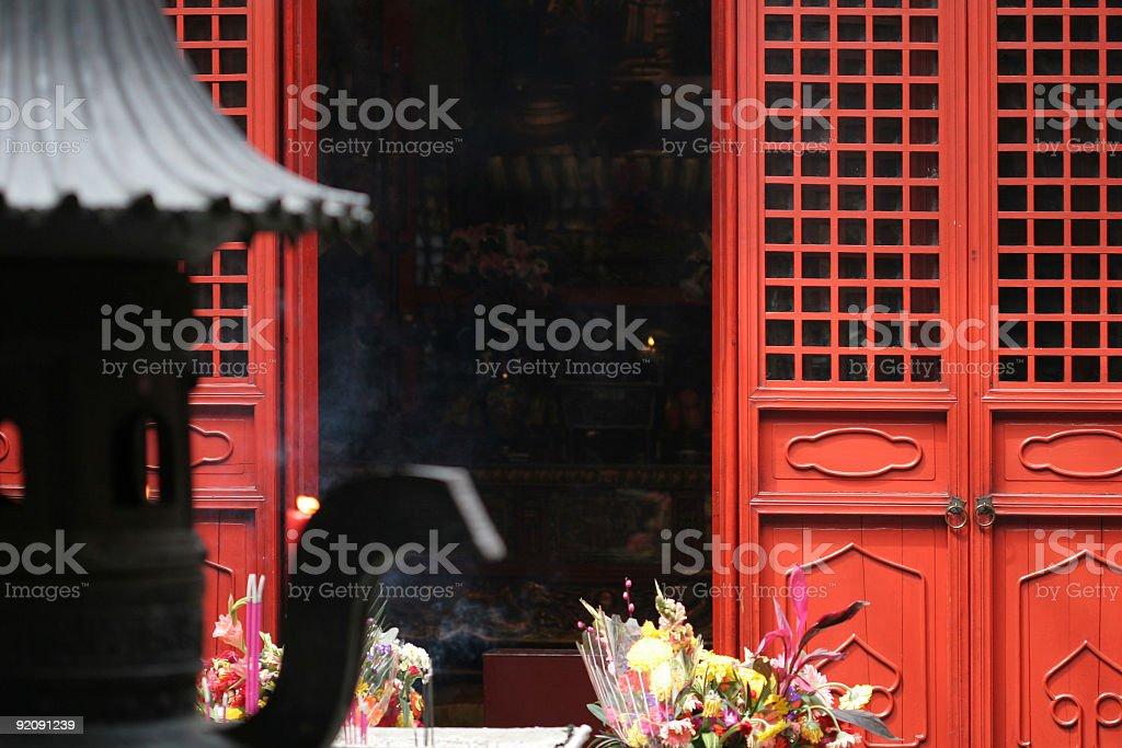 Shanghai_temple royalty-free stock photo
