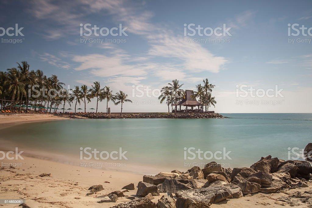 Shangri La's Tanjung Aru Resort and Spa stock photo