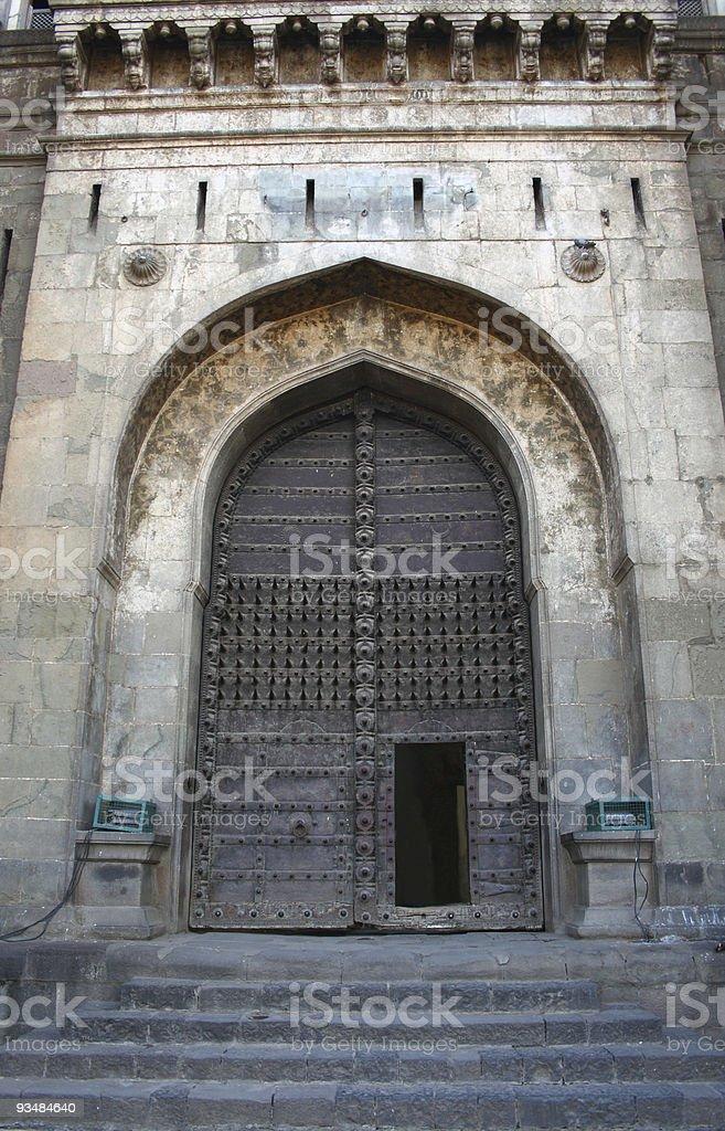 Shaniwar Wada palace entrance, Pune, India stock photo