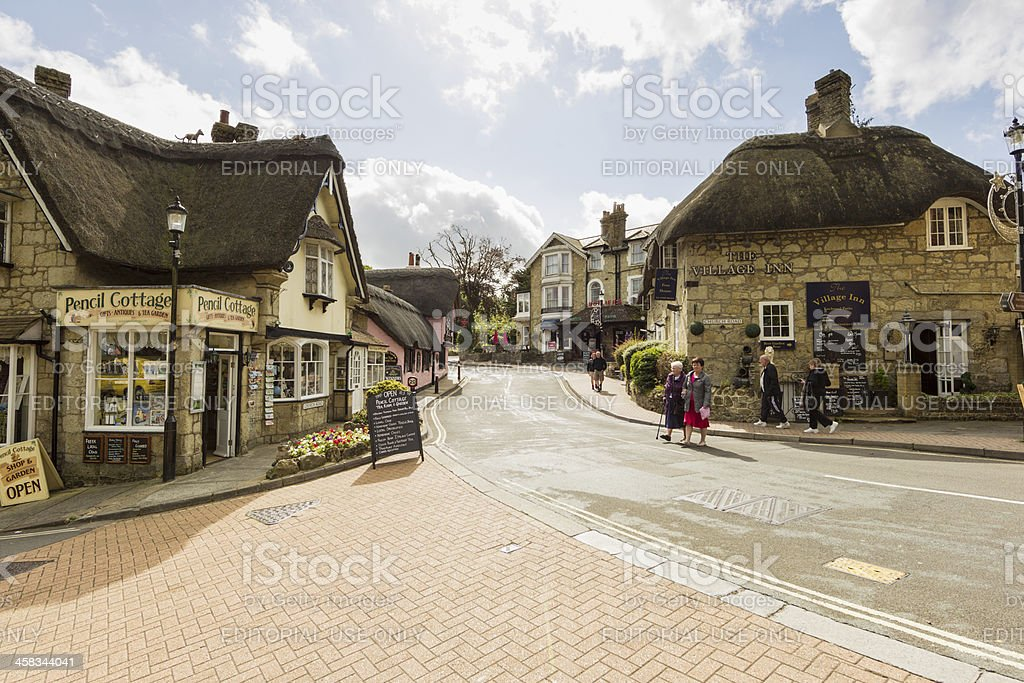 Shanklin Old Village royalty-free stock photo