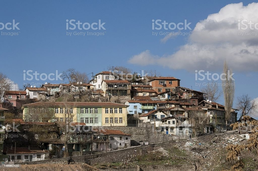 Shanty Hauses stock photo