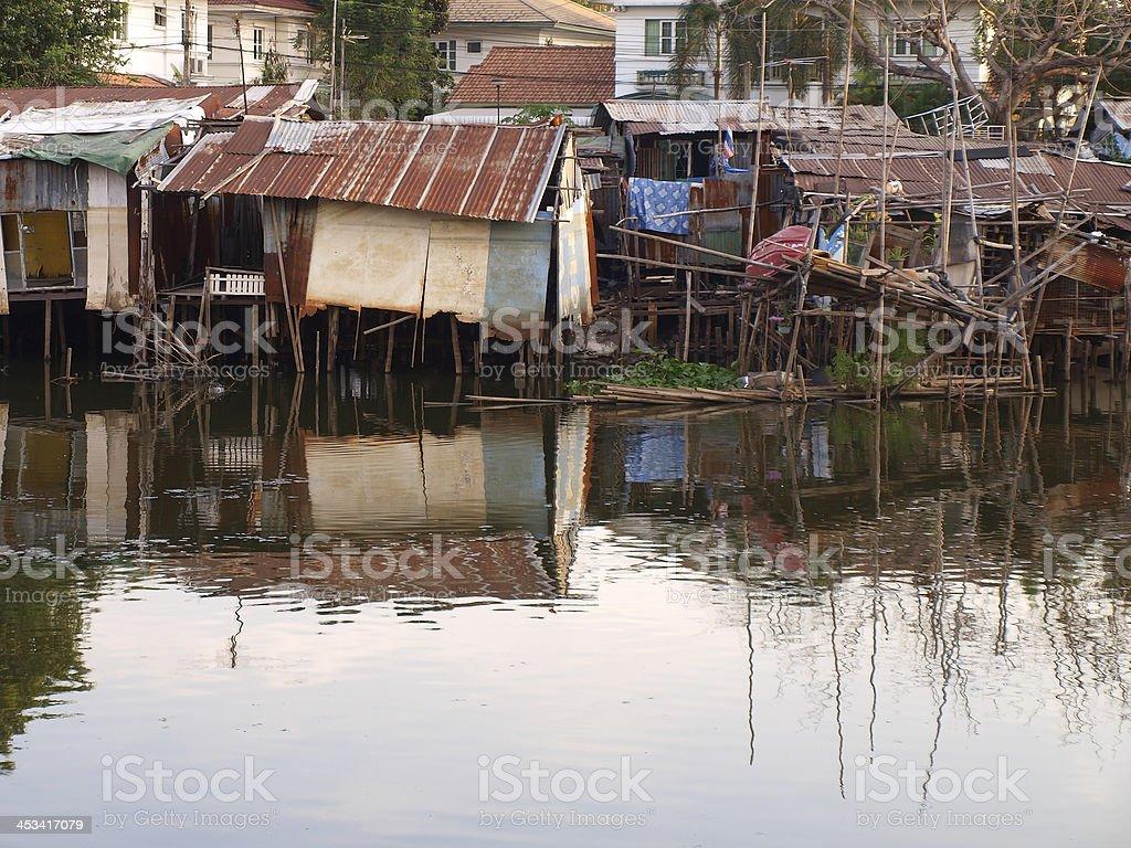 Shanty stock photo