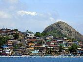 Shanty town in Niterói, Rio de Janeiro, Brazil