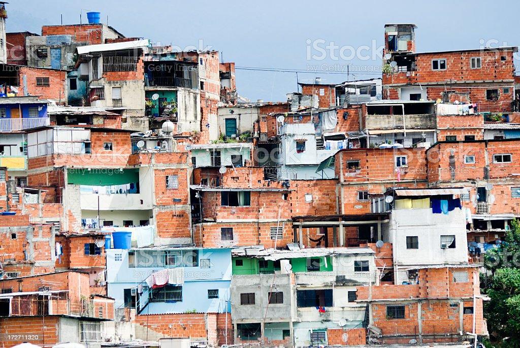 Shanty Town royalty-free stock photo