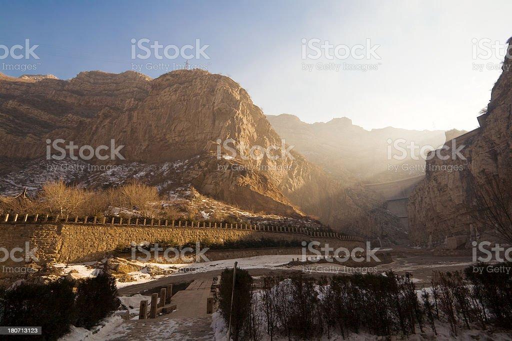 Shanxi landscape royalty-free stock photo