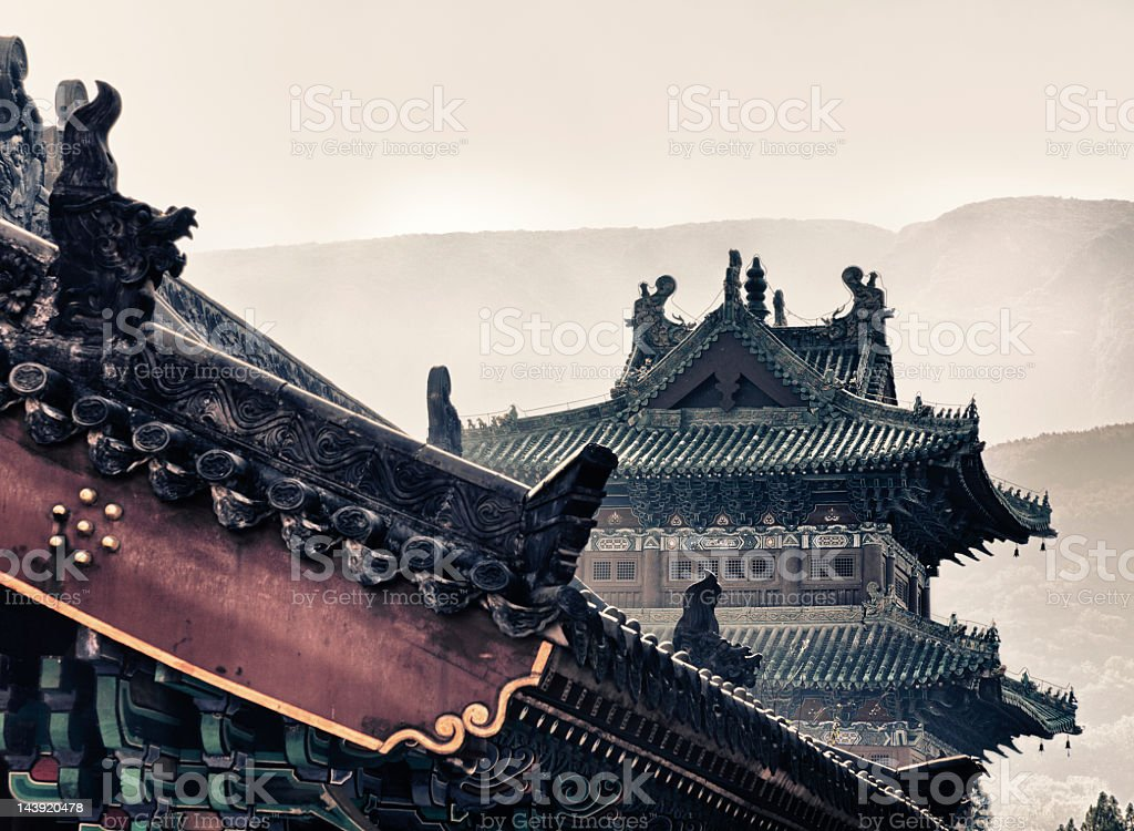 Shaolin Temple royalty-free stock photo