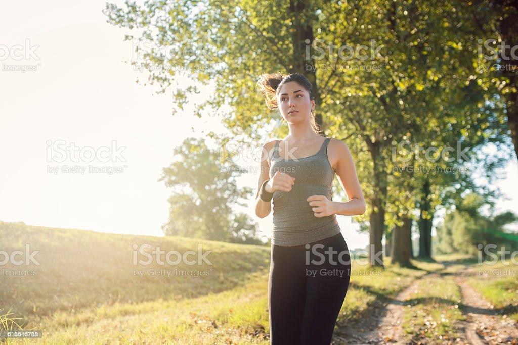 Shape, beauty and health stock photo