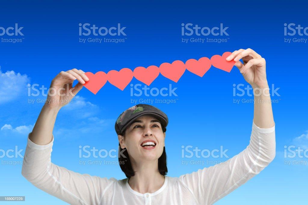 Shape of my heart stock photo