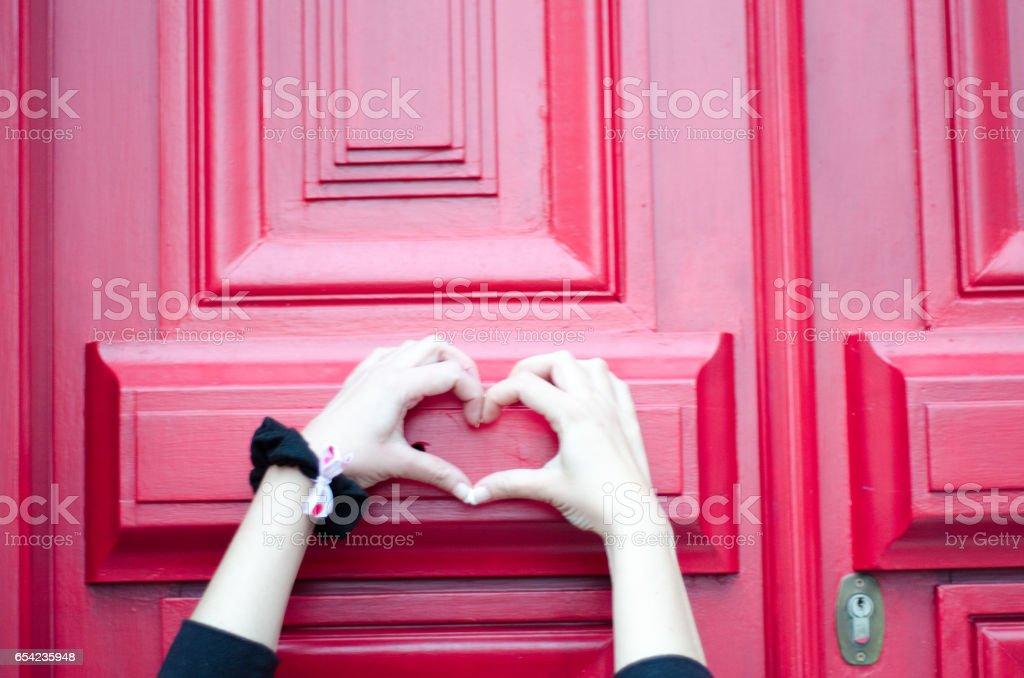 Shaped heart stock photo