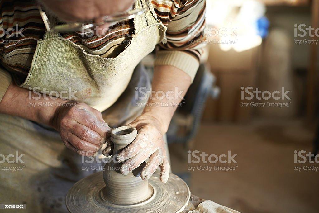 shaping jug stock photo