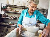 Shaping the retirement she loves
