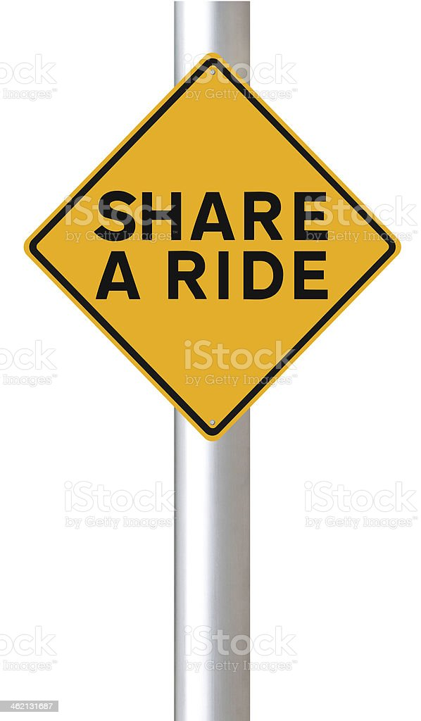 Share A Ride stock photo