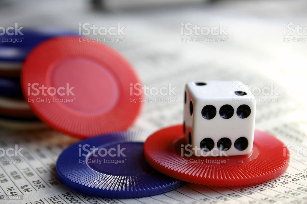 Share Gamble royalty-free stock photo